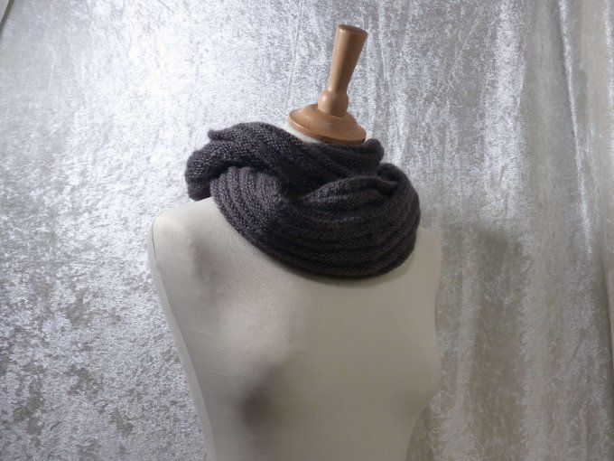 snood nm5 gris cheveche